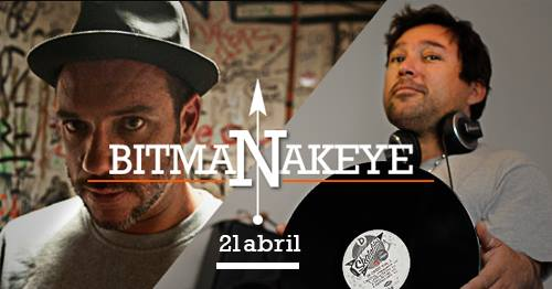 BITMAN + DJ NAKEYE / CAFÉ JOURNAL, VALPO